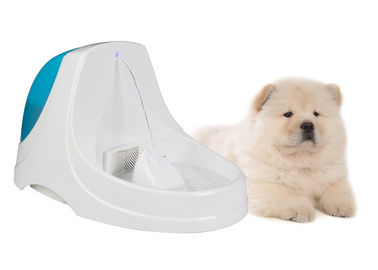 China Safe Ultra Quiet ABS PP Dog Water Bowl Fountain Anti Splash Slope Design factory